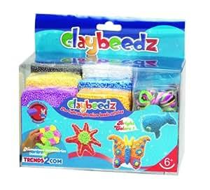 Claybeedz les billes légères micro soft pack d'argile couleur 6