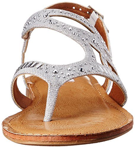 Not Rated Brentwood Femmes Synthétique Sandales silver