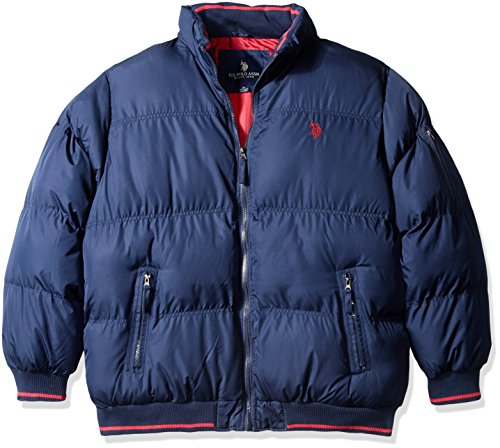 U.S. Polo Assn. Men's Classic Puffer Jacket - 2X Big - Classic Navy (And Tall Big Coats)
