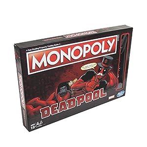 Monopoly Deadpool Marvel Heroes – Juego de mesa [versión francesa]