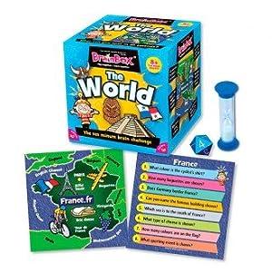 Brain Box Juego de Memoria The World, en inglés (316900012A)