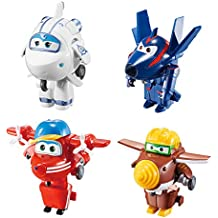 d842cfcae5501 Auldey - Super Wings- transform a bot Astra- Flip- Todd- Agent Chace