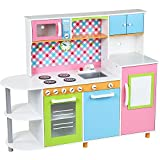 Infantastic® - Cocinita de juguete con frigorífico y lavavajillas