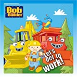 Bob The Builder - Childrens Partyware Napkins - One Pack of 16 Paper Napkins