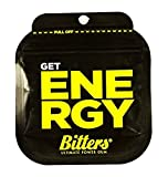 BITTERS - energy chewing gum with caffeine and taurine, box of 12 units of 3-Pack ORIGINAL - BITTERS - Energie Kaugummi mit Koffein und Taurin, Schachtel mit 12 Einheiten 3er-Pack ORIGINAL