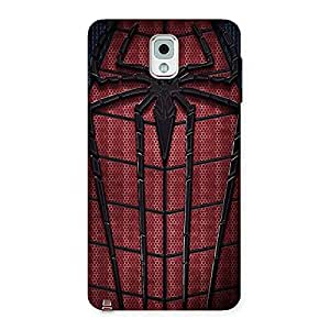 Web Wear Back Case Cover for Galaxy Note 3