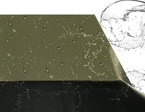Sunray Abdeckung Schutzhülle Gartenmöbel Groß Dunkelgrün, Abdeckplane für Rechteckige Sitzgarnituren, Gartentische und Möbelsets (85″ x 68″ x 35″) - 3