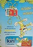 Image de Marsupilami - Kiri 2002 - Houba ! Houba ! collectionne les 20 autocollants Marsupilami offerts dans les boîtes de Kiri à la crème - page publicitai