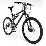 "MUDDYFOX 26"" Livewire Mens BIKE - Bicycle BLACK 21 speed Shimano (Disc Brakes)"