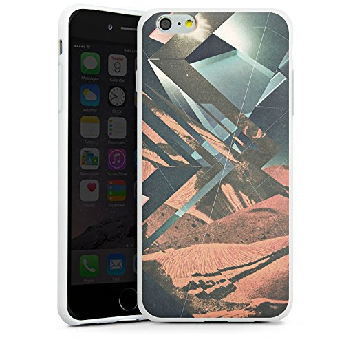 Apple iPhone X Silikon Hülle Case Schutzhülle Mars Hipster Muster Silikon Case weiß