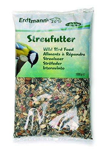Erdtmanns Wild Bird pour nourriture Graines Mélange 1 kg (lot de 15)