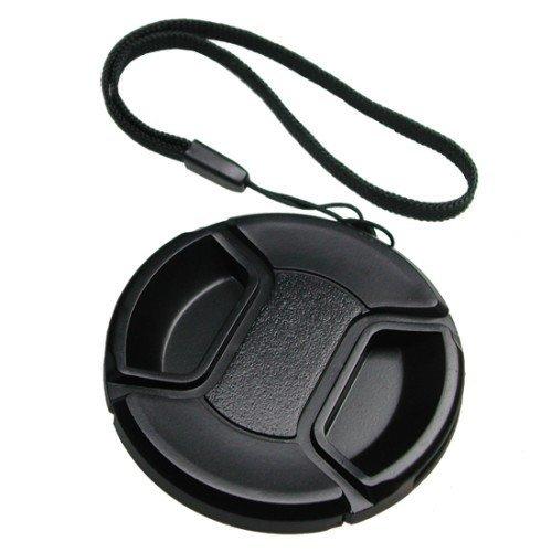 Mennon Objektivdeckel zum Pro Center Pinch 58mm Snap-on Lens Cap mit Leine Medium-format Digital Slr