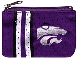 NCAA Kansas State Wildcats Ladies Athletic Mesh Coin Purse