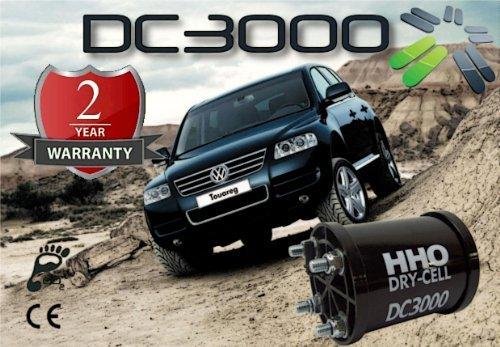 Generateur HHO DC3000 - Kit complet pour économiser de carburant dans les voitures