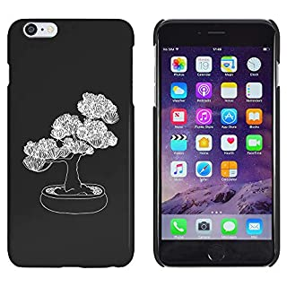 Azeeda Black 'Beautiful Plant' Case / Cover for iPhone 6 Plus & 6S Plus (MC00179046)