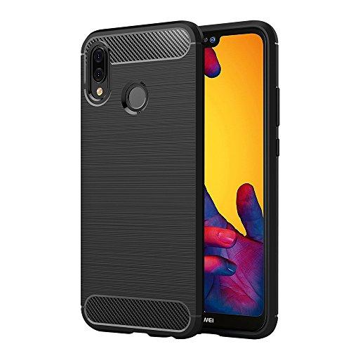 Elekin Cover Huawei P20 Lite, Huawei P20 Lite Custodia TPU Silicone Case Custodia Shock-Absorption Bumper e Anti-Scratch…