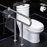 GYL YUSHIFUSHOU LWFB Handläufe aus Edelstahl/Stehhilfe für Stehänder/Toilette Sicherheits-Armstütze/Toiletten Ältere U-förmige Stützgeländer Badezimmerarmlehne