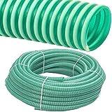 Spiralschlauch PVC Druckschlauch und Saugschlauch Meterware 1 bis 4 Zoll (1 Zoll / 25 x 2.7mm)