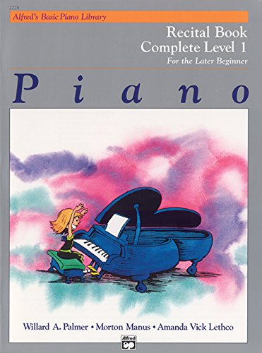 Abpl Recital Book Level 1 Comp Pf Bk Livre Sur la Musique (Alfred's Basic Piano Library)