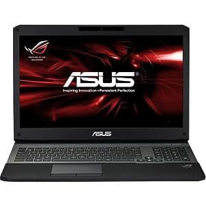 """Asus G750JS-T4121H Ordinateur portable 17"""" (43,18 cm) Intel Core i7 4710HQ 2,5 GHz 2 To 8 Go Nvidia GeForce GTX 870M Windows 8.1 Noir"""