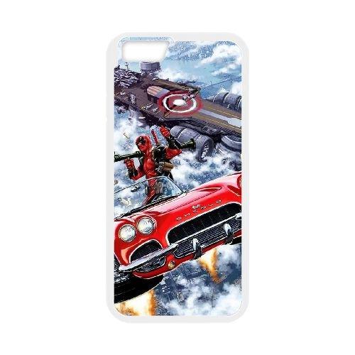 Deadpool coque iPhone 6 4.7 Inch Housse Blanc téléphone portable couverture de cas coque EBDXJKNBO12229