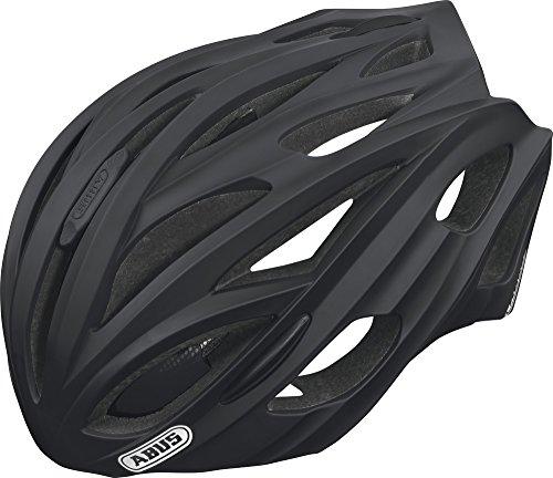 ABUS Fahrradhelm In-Vizz, Black, L (60-63 cm), 14330-4