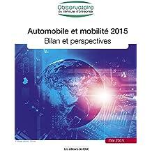 Automobile et mobilité 2015