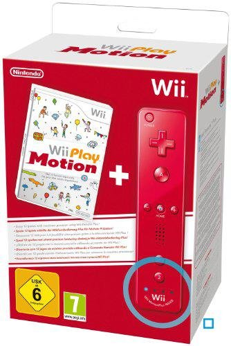 Wii Play: Motion (Spiel + Wii Plus Remote in Rot) - [Nintendo Wii]