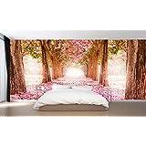 Fotomural vinilo pared Paisaje flores | Varias Medidas 200x150cm | Decoración de comedores, salones | Motivos Paisajisticos | Urbes, Naturaleza, Arte | Multicolor | Diseño Elegante |