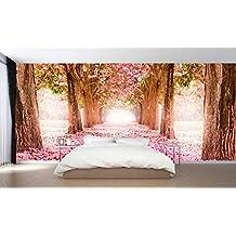 Fotomural vinilo pared Paisaje flores | Varias Medidas 200x150cm | Decoración de comedores, salones | Motivos Paisajisticos | Urbes, Naturaleza, Arte | Multicolor | Diseño Elegante