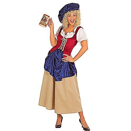 Widmann wid56581–Kostüm für Erwachsene Bäuerin, mehrfarbig, S