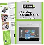 dipos I 2X Schutzfolie matt passend für Microsoft Surface Go Folie Bildschirmschutzfolie