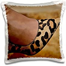 Animal Print Shoe-Pillow Case, 16 by 16