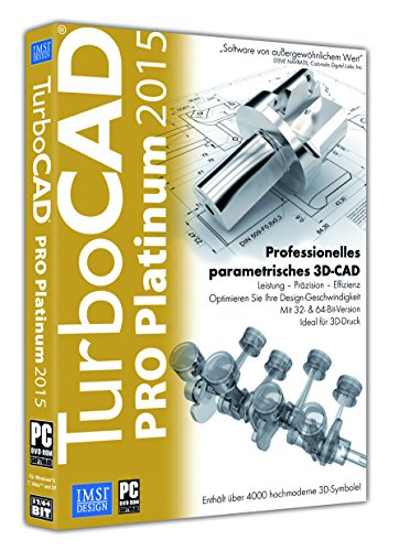 IMSI TurboCAD PRO Platinum 2015 (Design-software Mechanische)