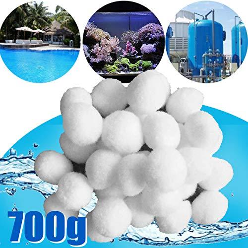 700g Filter Balls 40mm alternativ zu 25 kg Filtersand Quarzsand Sandfilter Pool Filter für pool