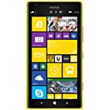 Nokia Lumia 1520 Smartphone débloqué 4G (Ecran: 6 pouces - 32 Go - Windows Phone 8) Jaune