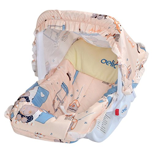 Delia Baby LFW-6222S 3 in 1 Baby Carry Cot (Cream)