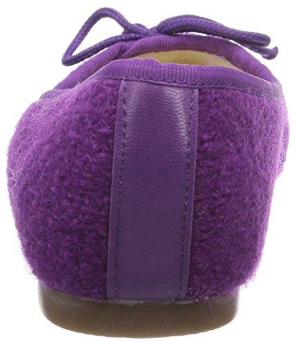Kitz-Pichler Ballerina Damen Flache Hausschuhe Violett (4058 deep purple)
