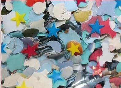 10 Sacs 100 Gr De Confetti Multicolor