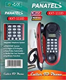 Pushbrite 111-222-333 PANATEL Caller ID Landline Corded Telephone (Also Can Wall Mount)