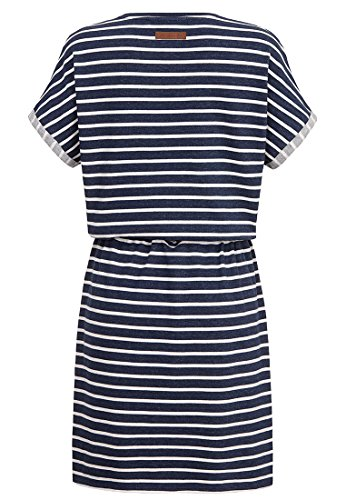 Naketano Female Dress Blaues Licht Stripe Hype