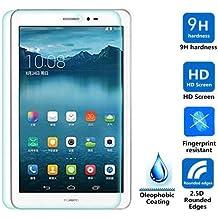 IVSO Pellicola Protettiva Schermo in Vetro Temperato per Huawei MediaPad T1 10-Inch Tablet (Tempered Glass - 1 Pack)