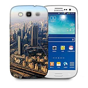 Snoogg City From Top Printed Protective Phone Back Case Cover For Samsung S3 / S III