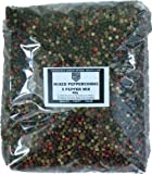 Mixed Peppercorns - Five Pepper Mix Whole Peppercorns Containing Black White Green Red Peppercorns and Allspice 900g