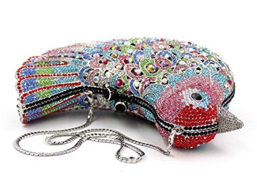 XYXM Pochette signora di fascia alta borse cena di lusso diamanti uccello pacchetto vestito sacchetto personalizzato diamante , color 9 color 6