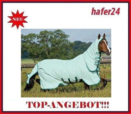 Horseware Rambo Sweetitch Hoody Ekzemerdecke mit Fliegenmaske 140 (Hoody 4)
