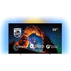 Philips 803 Smart TV OLED 4K UHD da 55'' (139 cm), Ambilight, Razor Slim, Android TV