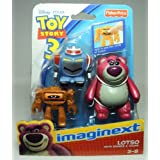 Fisher-Price Imaginext Toy Story 3 - Lotso 3 inch figure set by Toy Story