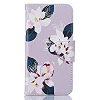 Samsung Galaxy J5/J5108 (2016 Model) [With Tempered Glass Screen Protector],Mo-Beauty® Galaxy J510 Excellent PU Leather Case,Full Body Colorful Pattern Design Flip PU Leather Wallet Magnetic Detachable Stand Book Type with Card Holder Slots Inner Flexibl