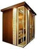 Sauna dal design raffinato e moderno (150x180)